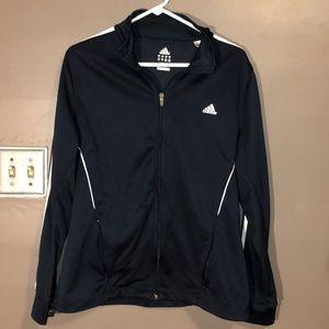 Men's Adidas Track Jacket Dark Navy XL Worn Once